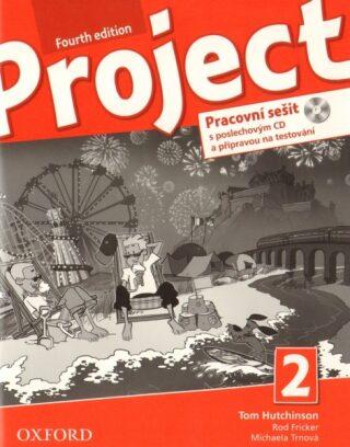 Project 2 Pracovní sešit s poslechovým CD a Project Online Practice (4th) - Kolektiv