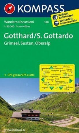 Gotthard-Grimsel 108 NKOM 1:40T - neuveden