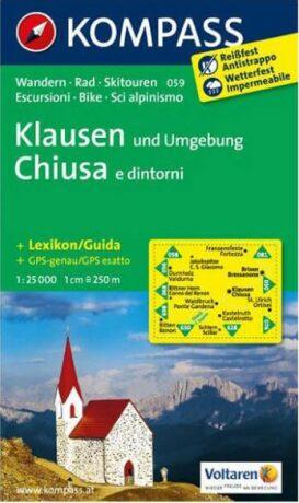 Klausen und Umgebung  059  NKOM 1:25T - neuveden