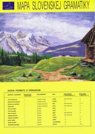 Mapa slovenskej gramatiky (SK vydanie) - Mária Lipková