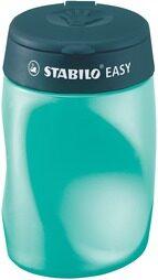 Ořezávátko STABILO EASY sharpener se zásobníkem pro leváky, petrolejové