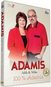 Duo Adamis - 100% Adamis - CD + DVD