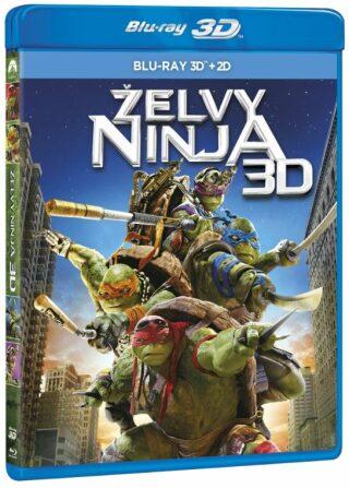Želvy Ninja 2BD (3D+2D) - Blu-ray