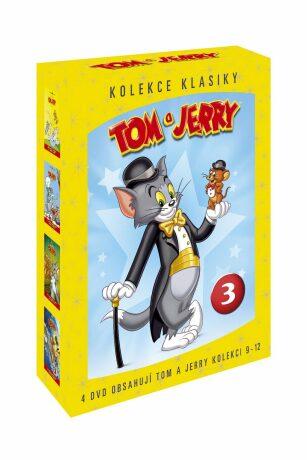 Tom a Jerry kolekce 3. 9 - 12 díl. - DVD