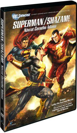 Superman/Shazam!: Návrat černého Adama - DVD