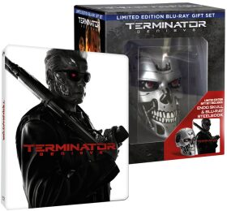 Terminator Genisys - sběratelské balení s lebkou  - steelbook -