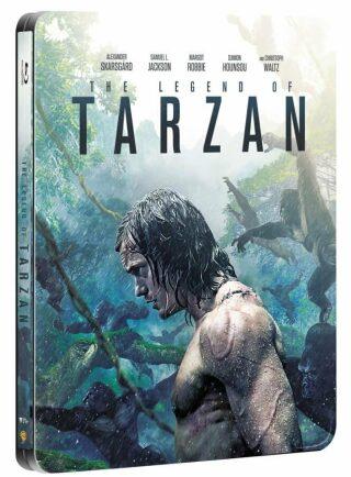 Legenda o Tarzanovi 2BD (3D+2D) - steelbook - BLU-RAY