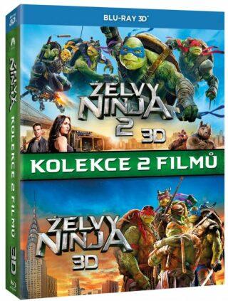 Želvy Ninja kolekce 1-2 3BD (3D+2D) - Blu-ray