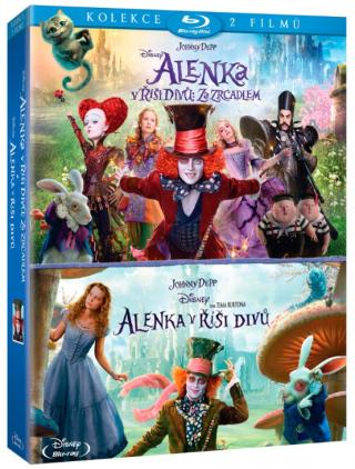 Alenka v říši divů kolekce 1.-2. 2BD - Blu-ray