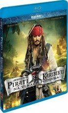 Piráti z Karibiku: Na vlnách podivna - Blu-ray