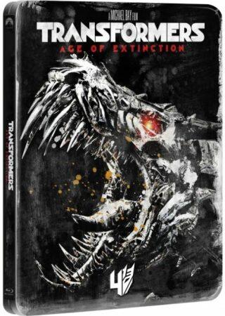 Transformers: Zánik BD - Edice 10 let - steelbook - BLU-RAY