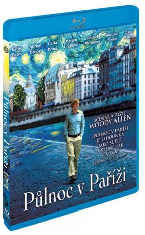 Půlnoc v Paříži - Blu-ray