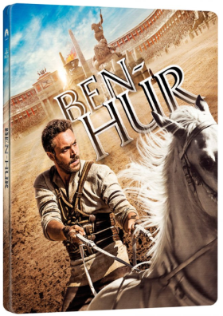Ben Hur BD (2016) - steelbook - BLU-RAY