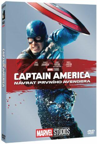 Captain America: Návrat prvního Avengera - Edice Marvel 10 let - DVD
