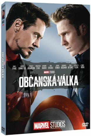 Captain America: Občanská válka - Edice Marvel 10 let - DVD