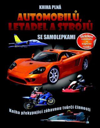 Kniha plná automobilů, letadel a strojů - neuveden