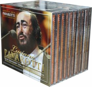 Luciano Pavarotti - Live Concert Collection - 10CD Box - Luciano Pavarotti