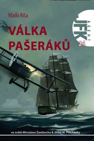 JFK 24 - Válka pašeráků - Vlado Ríša