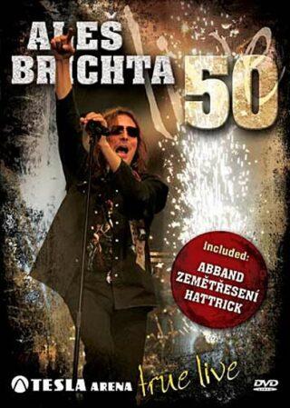 Aleš Brichta - 50 Tesla Arena Live - DVD - neuveden