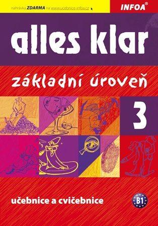 Alles klar 3ab - učebnice + cvičebnice - Krystyna Luniewska