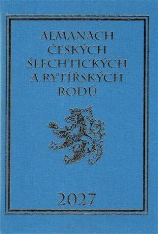 Almanach českých šlechtických a rytířských rodů 2027 - Karel Vavřínek