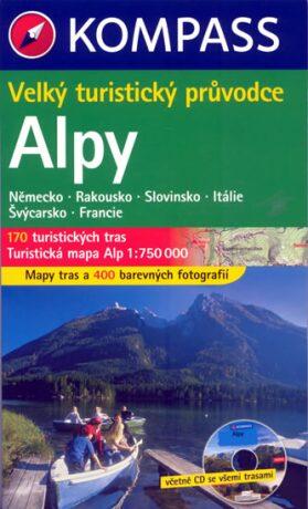 Alpy Kompass - průvodce, 3.vydání - kolektiv