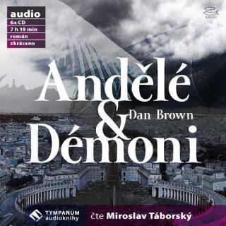 Andělé a démoni - Dan Brown - audiokniha