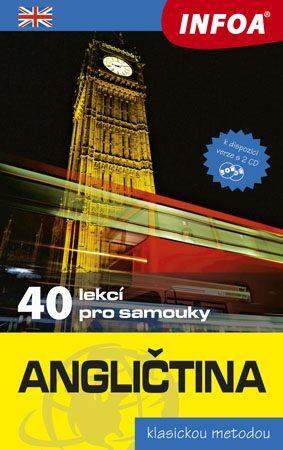 Angličtina - 40 lekcí pro samouky + 2 CD - Kolektiv