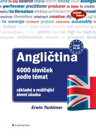 Angličtina 4000 slovíček podle témat - Erwin Tschirner - e-kniha