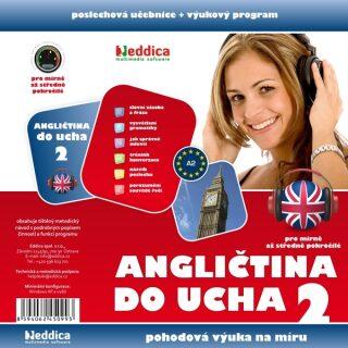 Angličtina do ucha 2 - mírně pokročilí - Eddica - audiokniha