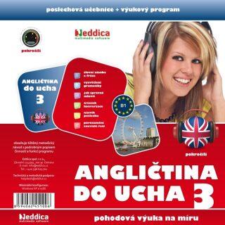 Angličtina do ucha 3 - pokročilí - Eddica - audiokniha