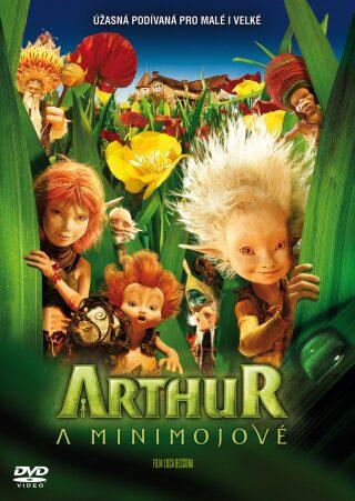Arthur a Minimojové  DVD -