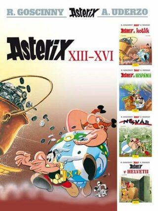 Asterix XIII - XVI - René Goscinny, Albert Uderzo