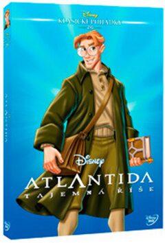 Atlantida: Tajemná říše - Edice Disney klasické pohádky - neuveden