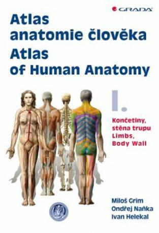 Atlas anatomie člověka I. - Ondřej Naňka, Miloš Grim, Helekal Ivan