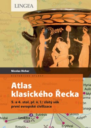 Atlas klasického Řecka - Nicolas Richer