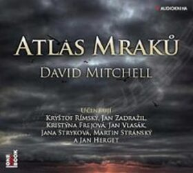 Atlas mraků - David Mitchell - audiokniha