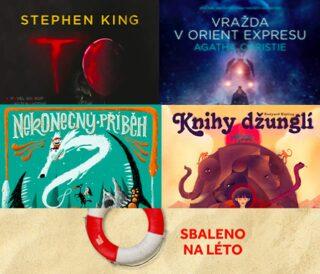 Audio roku 2017 komplet: TO, Vražda v orient expresu, Knihy džunglí, Nekonečný příběh - audiokniha