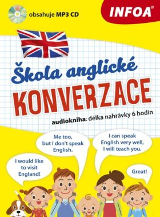 Audiokniha - Škola anglické konverzace + MP3 CD - Pankaj Joshi