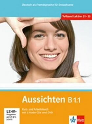 Aussichten B1.1 Kurs-und Arbeitsbuch + CD + DVD - El-Ros L. Hosni