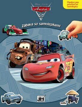 Zábava so samolepkami Autá 2 -