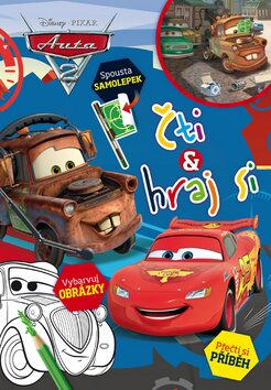 Auta 2 - Čti a hraj si - Walt Disney