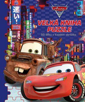 Auta - Velká kniha puzzle - autora nemá