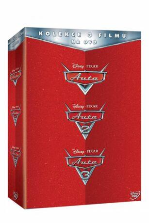 Auta kolekce 1.-3. - DVD