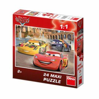 Auta: Veselý Blesk - Maxi puzzle 24 dílků - Walt Disney