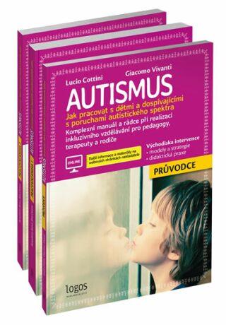 Autismus - Průvodce + Pracovní kniha 1 + Pracovní kniha 2 - Cottini Lucio, Vivanti Giacomo