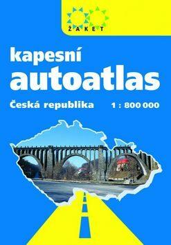Autoatlas ČR kapesní A6 -