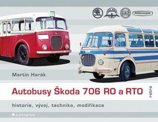 Autobusy Škoda 706 RO a RTO - historie, vývoj, technika, modifikace - Harák Martin