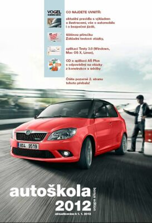Autoškola 2012 + CD - neuveden