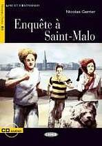 BLACK CAT LIRE ET S´ENTRAINER 3 - ENQUETE A SAINT-MALO + CD - Nicolas Gerrier